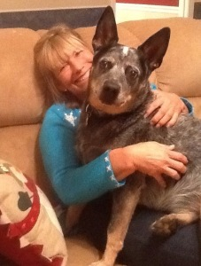 Dr. Marshall said her dog Clark, a Blue Heeler, was instrumental in helping to save her life.